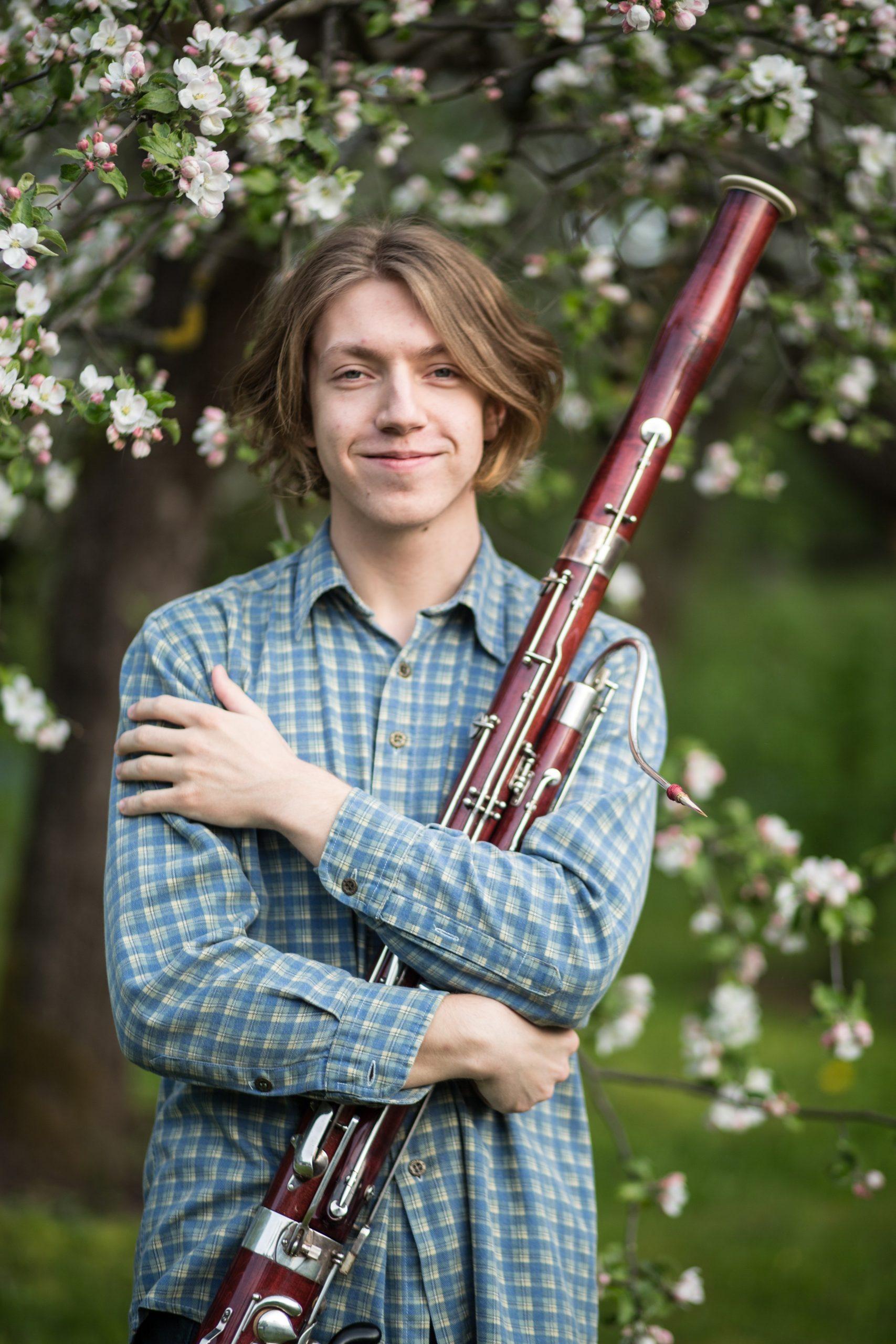 Parama skirta būsimam profesionaliam atlikėjui, kuris užburia klausytojus fagoto instrumentu